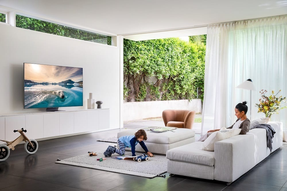 Samsung a lansat noile TV-uri QLED 4K și 8K