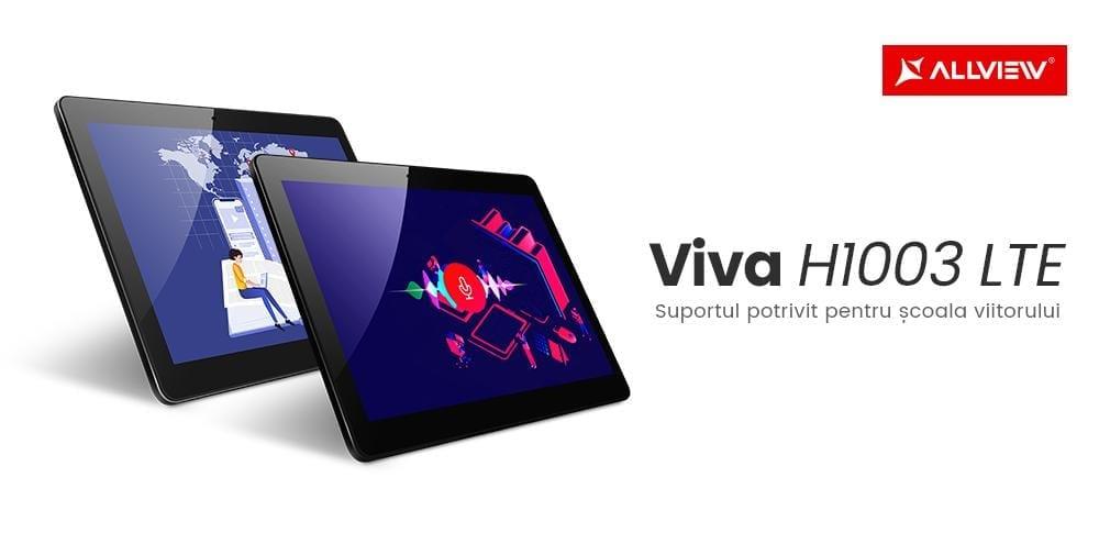 Allview prezintă tableta Viva H1003 LTE