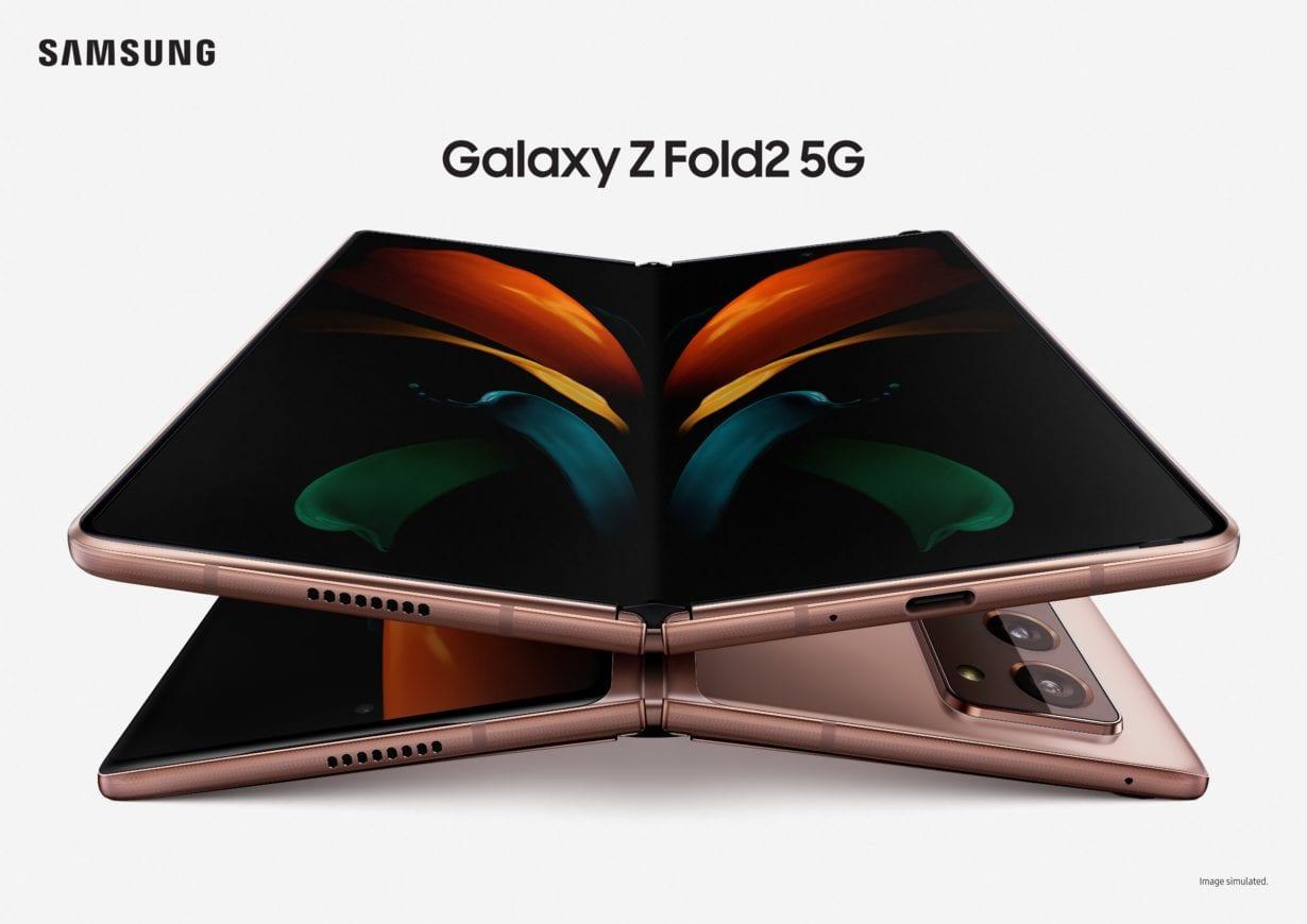 Samsung prezintă Galaxy Z Fold2