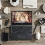 ASUS ZenBook Flip 13 este un laptop convertibil cu procesoare Intel din generația a 11-a