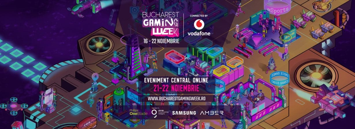 Bucharest Gaming Week a fost cel mai urmărit eveniment online al anului în România