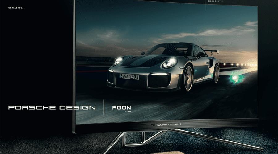 AOC lansează primul monitor de gaming dezvoltat împreună cu Porsche Design. Cât costă