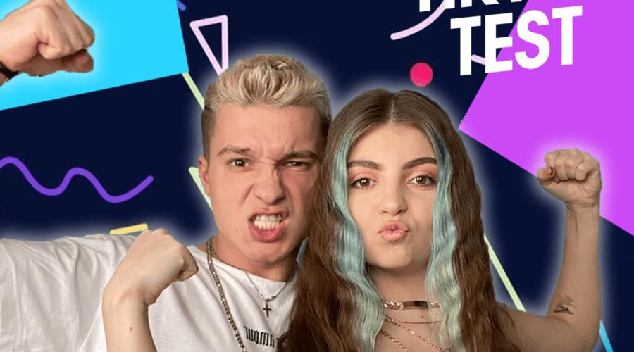Louis și Lorena, doi dintre cei mai cunoscuți creatori din România, au realizat prima emisiune de pe TikTok din Romania