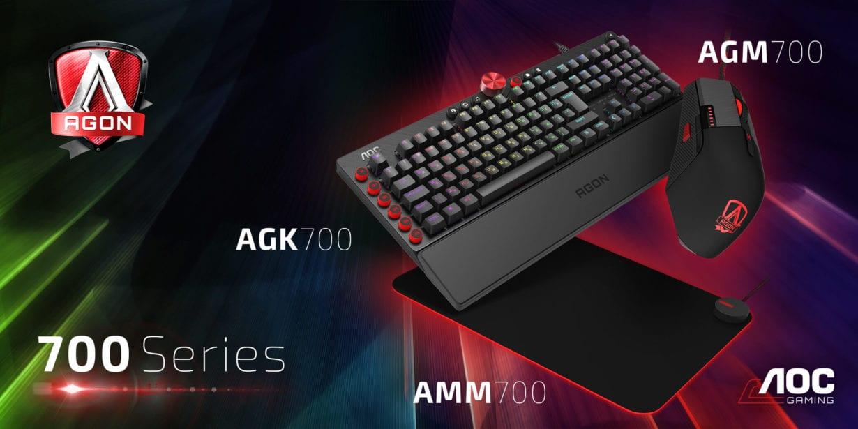 AOC lansează prima gamă de periferice de gaming AGON. Preț și dipsonibilitate