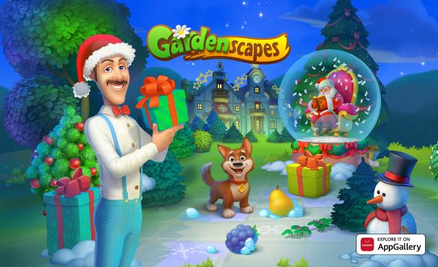 Gardenscape este cel mai nou joc din magazinul Huawei AppGallery