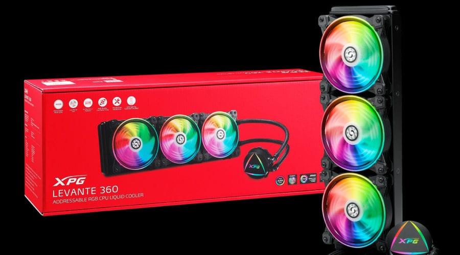 XPG lansează un nou cooler cu RGB