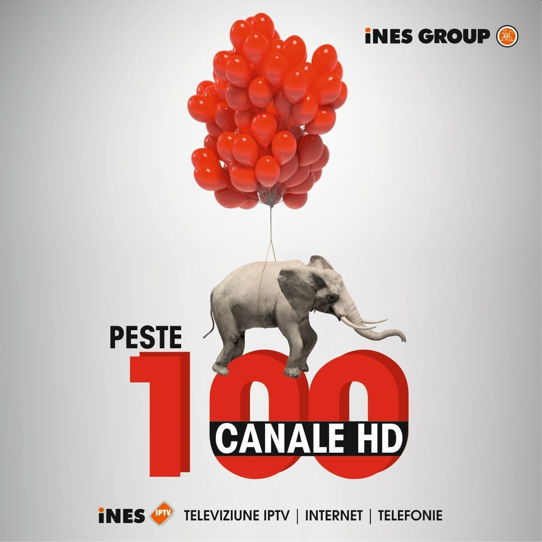 iNES, primul operator TV cu peste 100 de canale HD în grilă unică