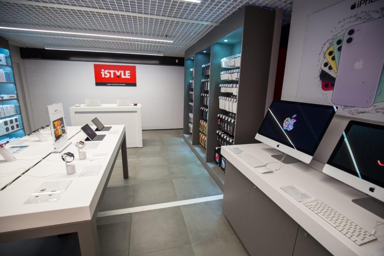iStyle lansează primul magazin stradal din România
