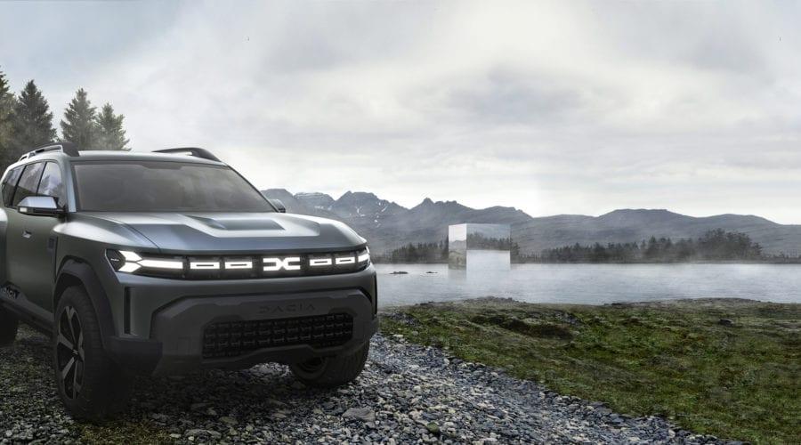 Dacia Bigster deschide noi orizonturi. Primele poze-concept cu viitorul SUV