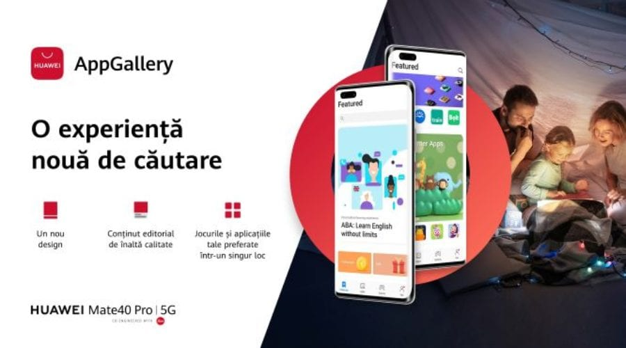 Huawei aduce noi schimbări la AppGallery
