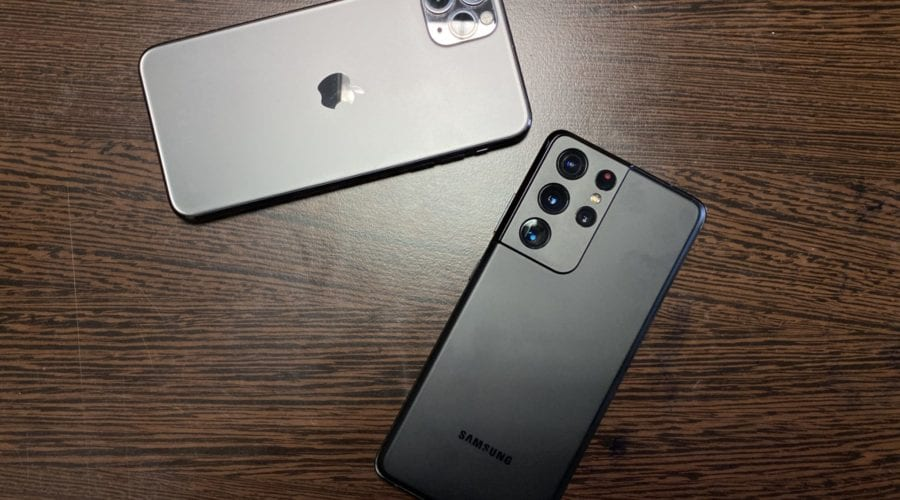 Apple vs Samsung: Ce companie a vândut mai multe telefoane în 2020 și pe ce loc se situează Huawei