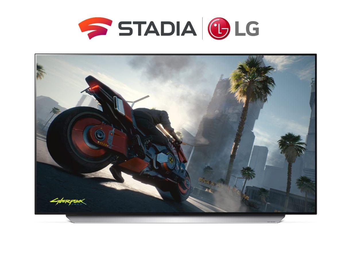 CES 2021: LG aduce Google Stadia pe cele mai noi televizoare smart