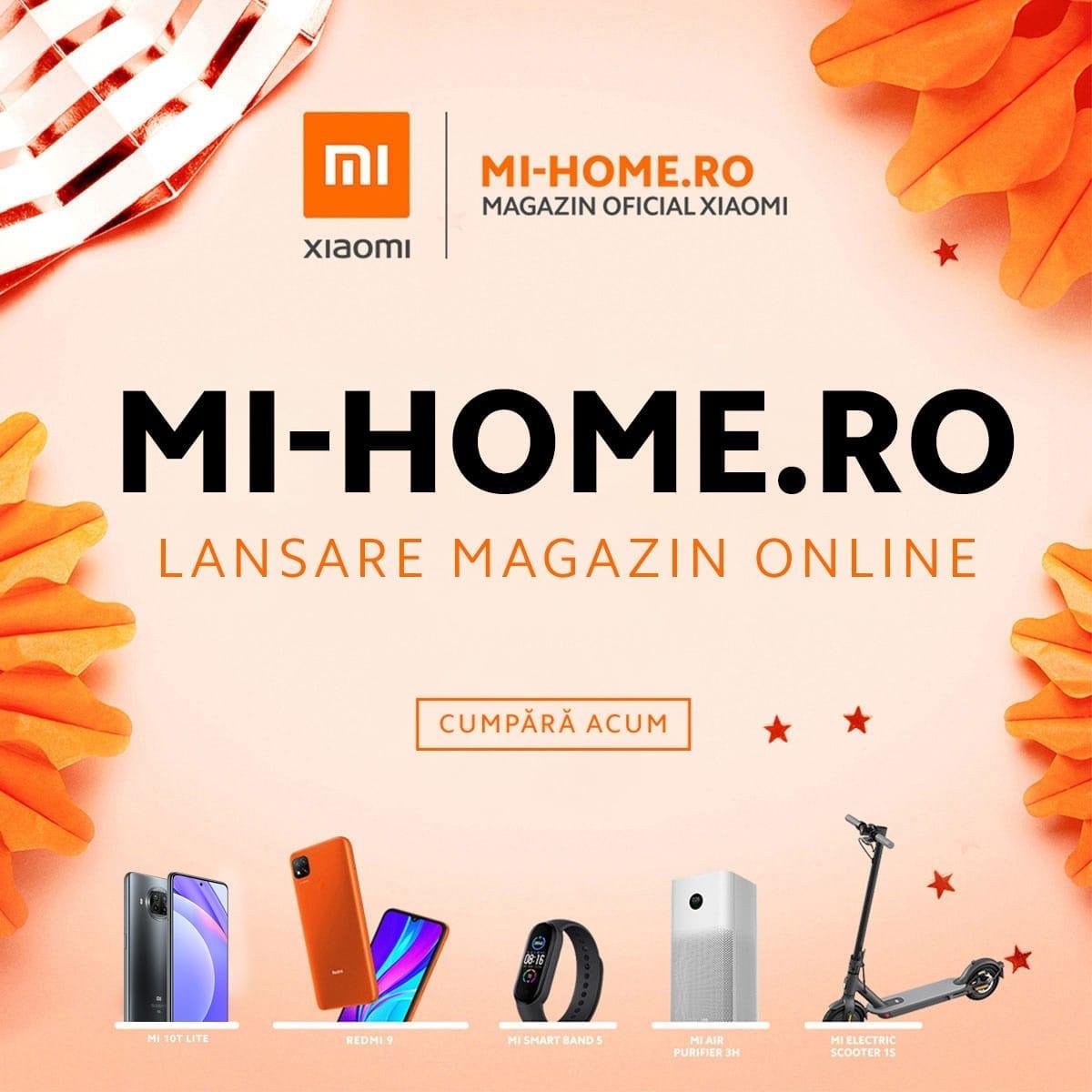 Xiaomi lansează În România magazinul oficial Mi-home
