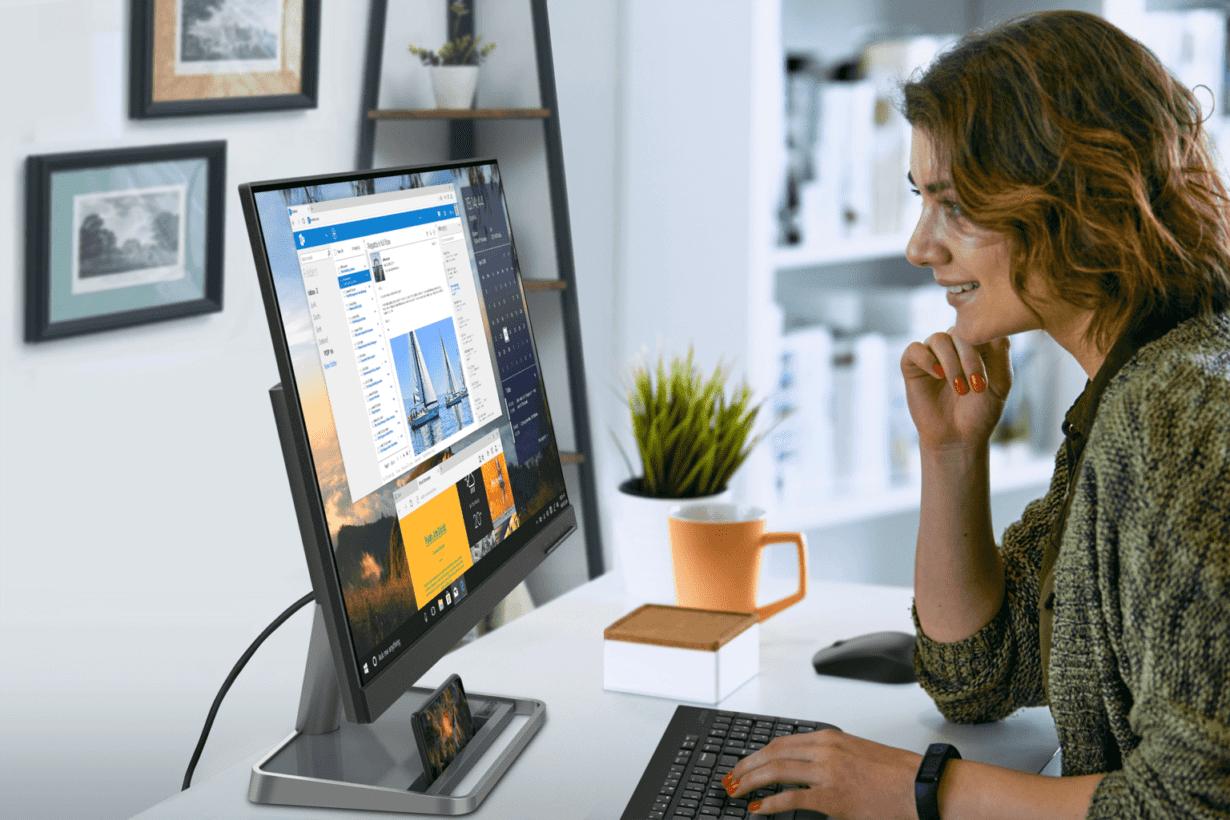 CES 2021: Lenovo anunță un desktop all-in-one dar și alte produse interesante