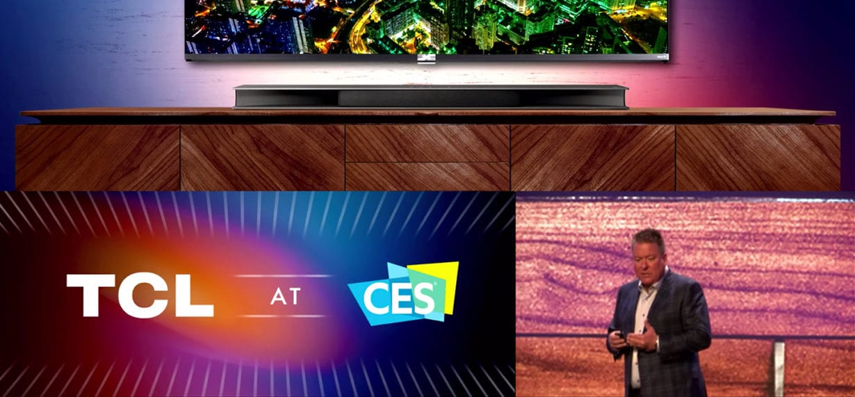 """CES 2021: TCL prezintă ecranele """"rulabile"""" AMOLED"""