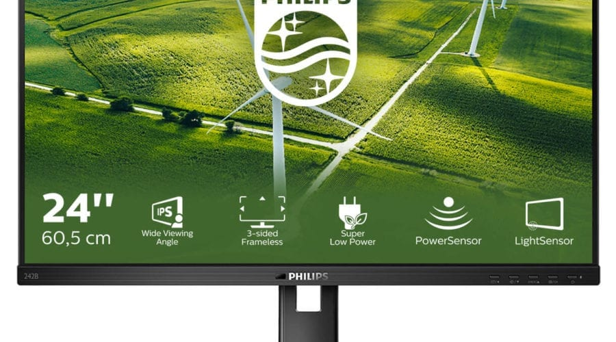 Philips a lansat un monitor eco-friendly