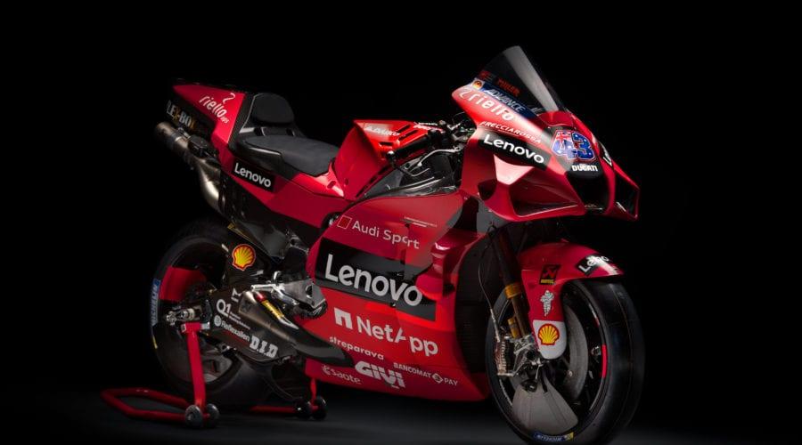 Lenovo este noul partener principal al echipei de MotoGP Ducati