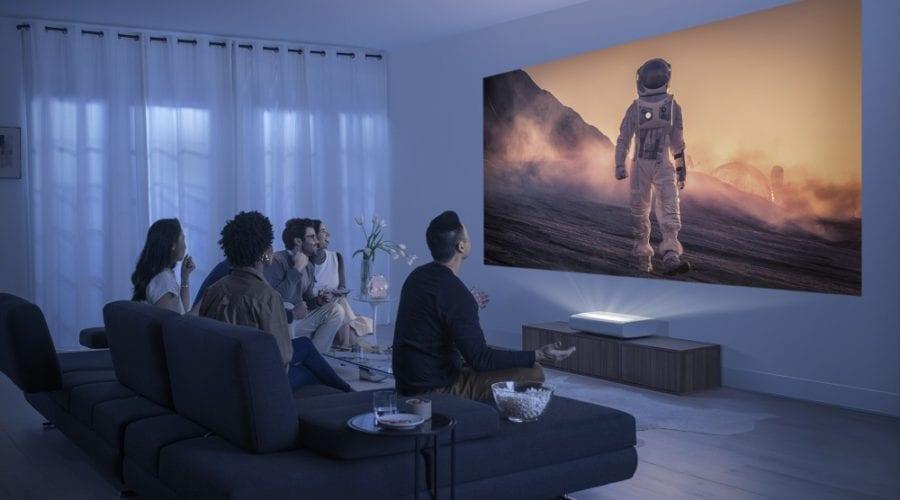 Samsung a lansat The Premiere, un videoproiector Smart 4K