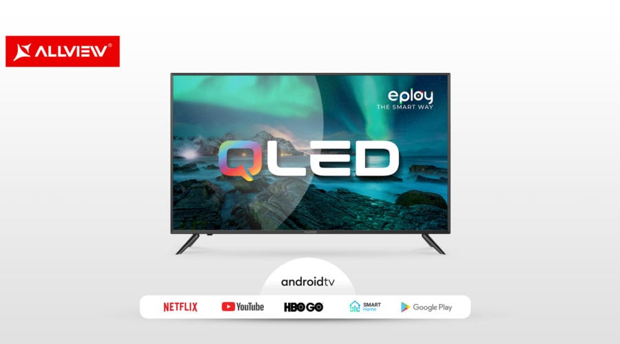 "Allview extinde gama Smart TV QLED cu un model de 43"". Va fi cel mai accesibil Smart TV"