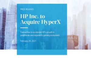 HP a achiziționat brandul de periferice HyperX. Cât au plătit americanii pentru brandul Kingston