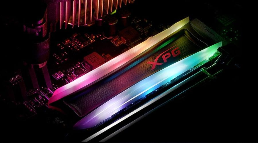 XPG Spectrix S40G, RGB peste tot