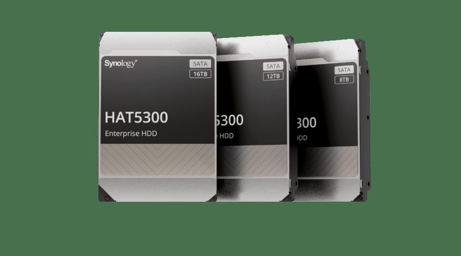 Synology intră pe piața de HDD-uri și lansează modelele HAT5300