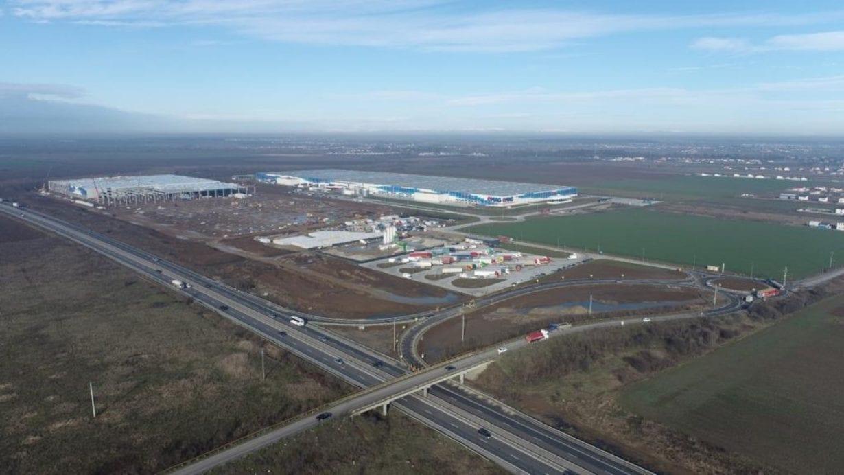 eMAG deschide un parc industrial în comuna Joița
