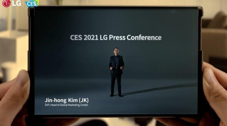 LG pune pe pauză proiectul pentru telefonul rulabil