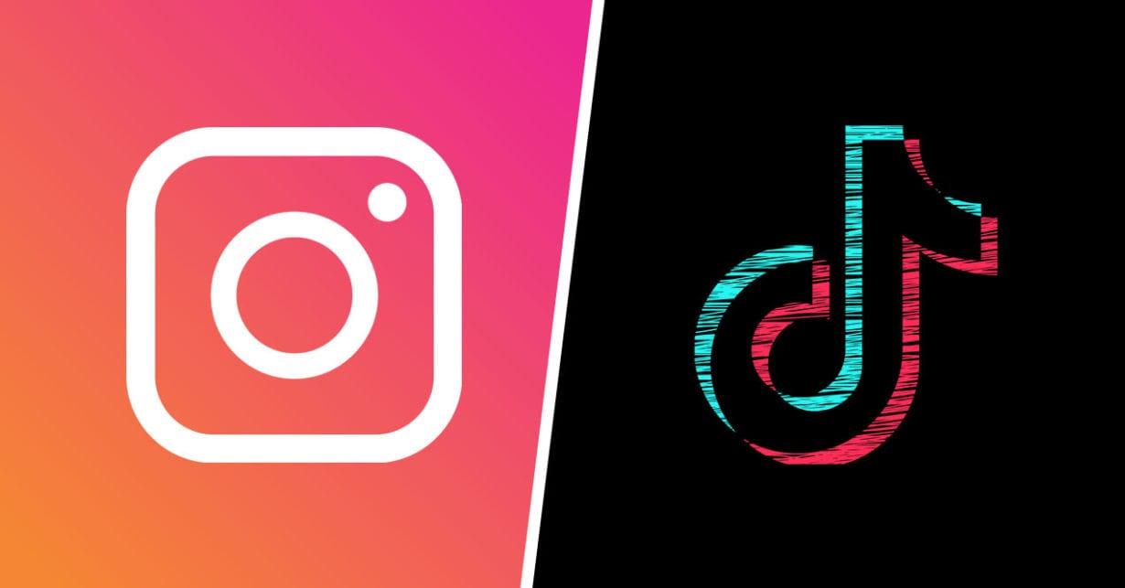 Instagram nu va mai accepta videoclipuri cu logo-uri ale altor aplicații, precum TikTok