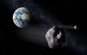 Un asteroid imens este pe cale să se apropie de Pământ. Acesta s-ar putea ciocni cu sateliții de comunicații de mare altitudine care orbitează planeta