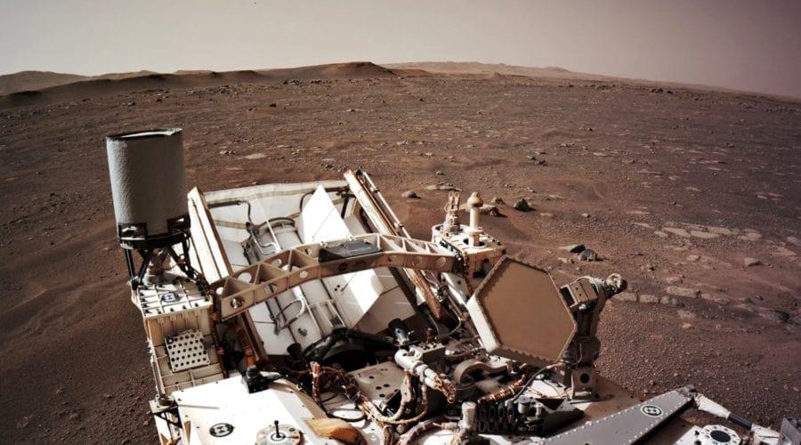 Roverul Mars Perseverance al NASA este alimentat de un procesor din 1998