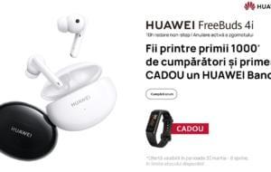 Precomandă Huawei FreeBuds 4i: ce primesc primii 1000 de clienți