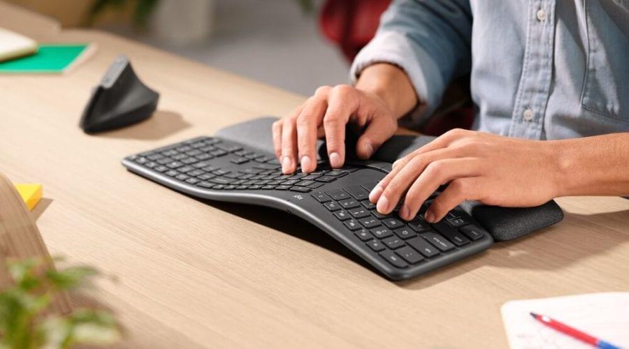 Logitech a lansat o nouă tastatură ergonomică
