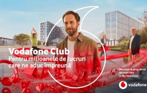 Vodafone anunță un nou program de loialitate și un parteneriat cu Revolut