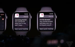 Apple a adăugat urmărirea perioadei de menstruație la aplicația iOS Health