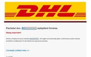 Cum se folosesc hackerii de numele DHL sau Fan Courier pentru a obține date de card