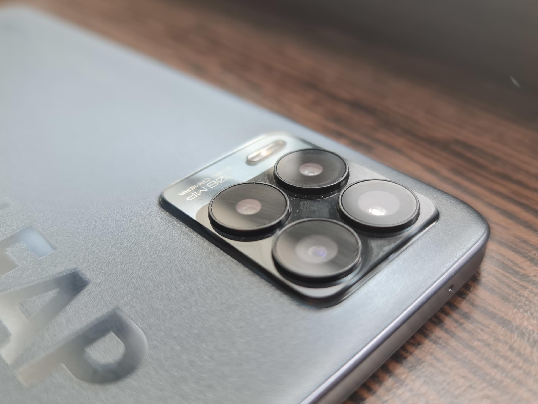 Realme 8 Pro camera bump.