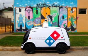 Livrările viitorului: Domino's folosește un robot autonom pentru a livra pizza