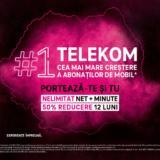 Telekom Romania este compania cu cel mai mare ritm de creștere al abonaților pe mobil. Ce oferte de primăvară a pregătit operatorul