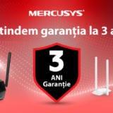 Mercusys extinde garanția produselor sale la trei ani