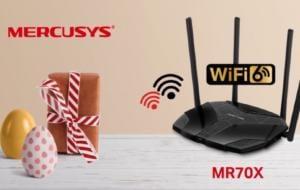 Reduceri de Paște la produsele Mercusys: Rețelistică și Wi-Fi 6 la prețuri accesibile