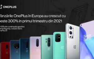 OnePlus anunță rezultate financiare bune în prima parte a lui 2021 și vine cu noi reduceri la telefoane