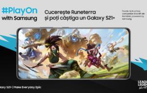 Samsung lansează o competiție de League of Legends: Wild Rift. Care este premiul cel mare