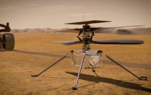 Omenirea a reușit primul zbor motorizat pe o altă planetă. NASA Ingenuity a decolat și a asolizat pe Marte