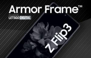 Samsung are în vederea realizarea de dispozitive mai ușoare în viitor. A depus un brevet pentru numele Armor Frame