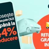 OLX încheie un parteneriat de livrare cu Poșta Română. Retururile sunt gratuite pe toată durata lunii iunie