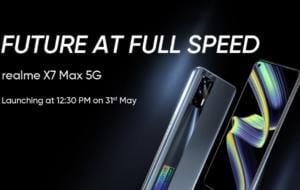 Realme X7 Max 5G va fi lansat pe 31 mai. Ce specificații are acesta