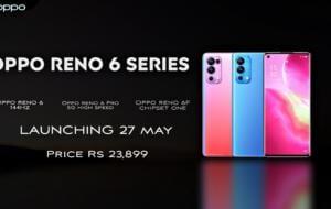 Lansarea seriei Oppo Reno6 din 27 mai a fost confirmată oficial