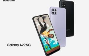 Samsung Galaxy A22 5G, disponibil în România. Preț și specificații