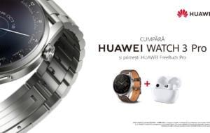 Huawei a lansat gama Watch 3 în România. Ce oferte de precomandă sunt disponibile